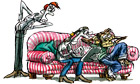 Benoit Jacques illustration 2/2/2013