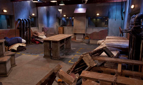 The basement room in the Celebrity Big Brother house. Photograph: Tim