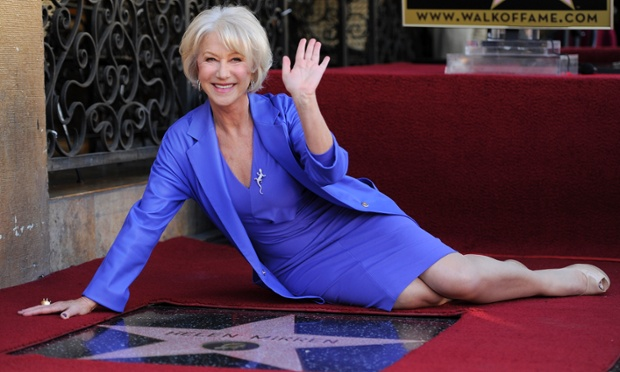 Helen Mirren Walk of Fame