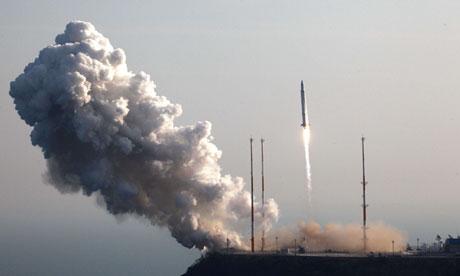 South Korea rocket launch