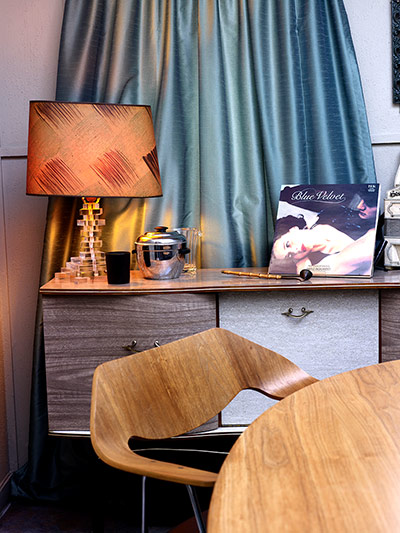 Homes: Art Deco: Sideboard in Jamie Carless and Andrea Webster's art deco house