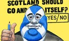 31.01.13: Steve Bell on the wording of the Scottish independence referendum