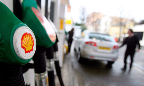 Shell reports increase in 2012 Q4 year-on-year profits