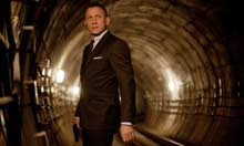 Skyfall, Daniel Craig as James Bond