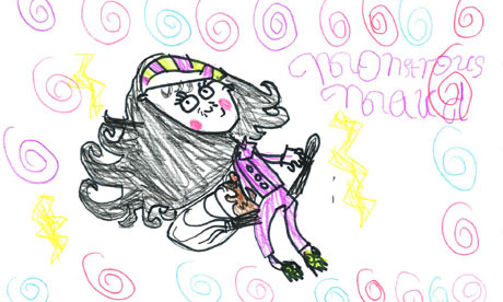 Monstrous Maude illustration by Maisy