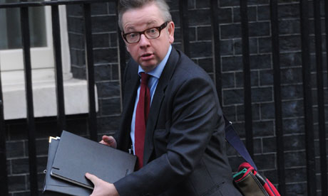 Michael Gove, London fire authority