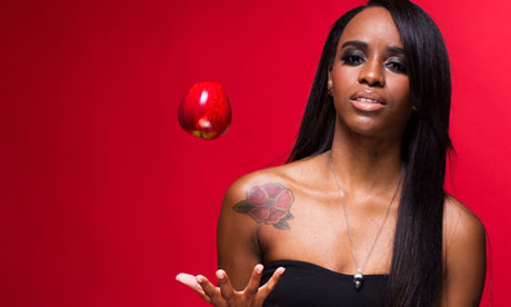 Angel Haze: 'I think, am I going to hell for this? Then  I remind myself I don't believe in it.'