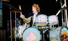 Ginger Baker performing wih Cream