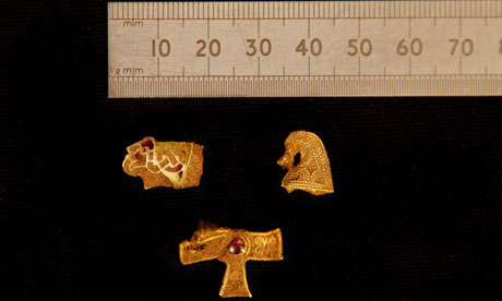 Staffordshire Hoard extra pieces