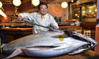 Sushi restaurant owner Kiyoshi Kimura