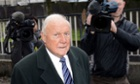 British broadcaster Stuart Hall arrives at Preston Magistrates Court in north west England this morning, to face charges of alleged indecent assault on three girls. He has pleaded not guilty to the charges. Read more on the story.