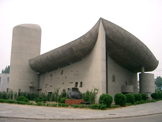 Copycat architecture: The copycat Ronchamp in Zhengzhou, China in 2004