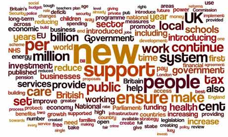 Coalition mid-term wordle