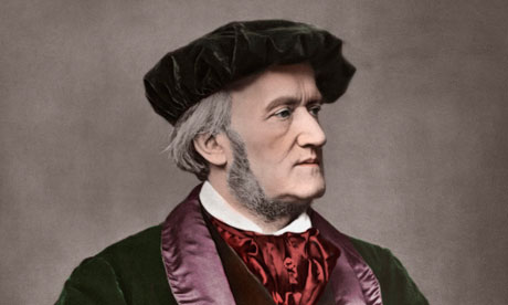 Portrait of Richard Wagner
