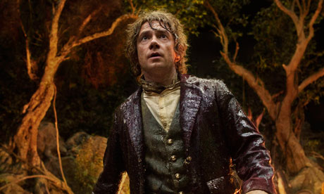 Publicity photo of actor Martin Freeman in scene from
