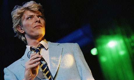 David Bowie: back at the centre of the whole shebang