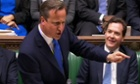 David Cameron is taking PMQs today for the first time in 2013.