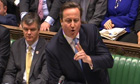 David Cameron at PM's Questions on 9 January 2013