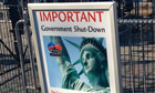 Statue of Liberty government shutdown