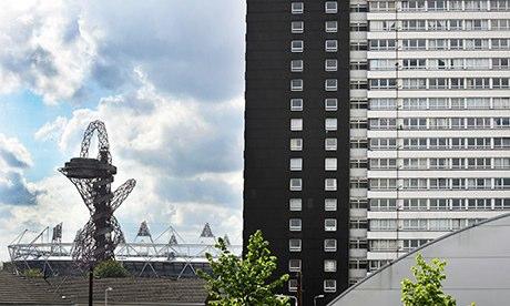 Tenants in east London