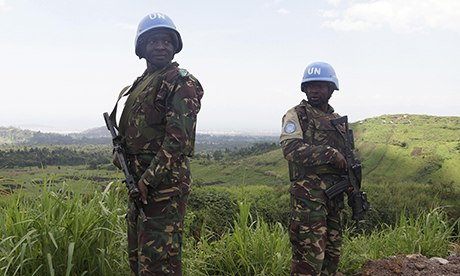 U.N. peacekeepers in Congo