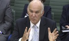 Business secretary Vince Cable has dismissed the huge Royal Mail share price rise as 'froth'.