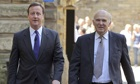 David Cameron and Vince Cable