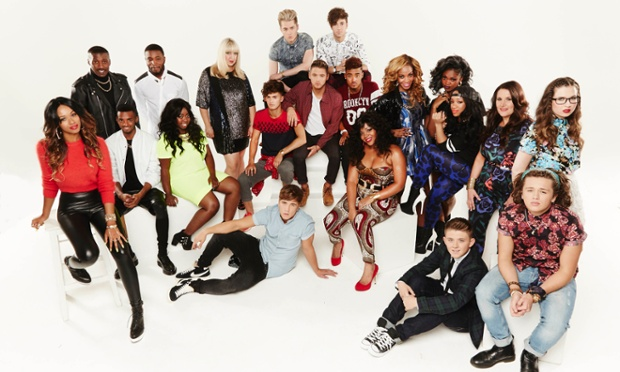 The X-Factor finalists.