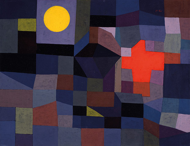 Paul Klee: Fire at Full Moon1933