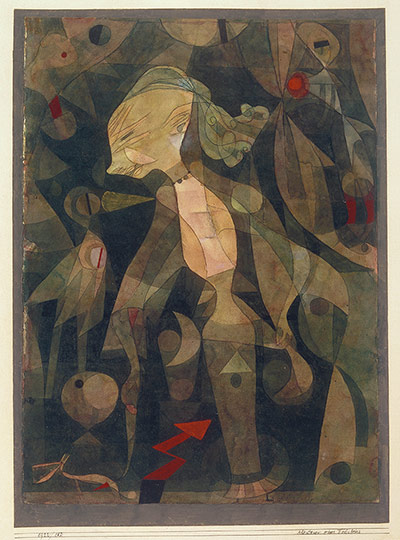 Paul Klee: A Young Lady's Adventure, 1922