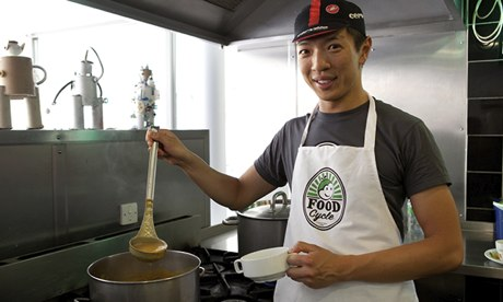 Interview With :    Kelvin Cheung, Founder and CEO of FoodCycle