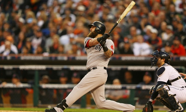 Mike Napoli's solo home run was all the Boston Red Sox needed to defeat the Detroit Tigers 1-0 on Tuesday afternoon. The victory gave the Red Sox a 2-1 lead in the American Championship Series.