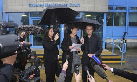 Caroline Lucas court case