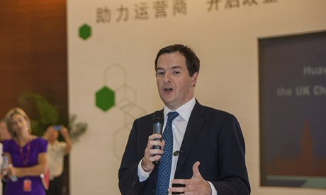 George Osborne in China, 16 Oct 2013