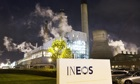 Ineos's Grangemouth oil refinery has been shut in a dispute