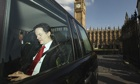 Nick Clegg leaves Westminster