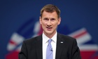 Jeremy Hunt Health Secretary uk families elderly relatives
