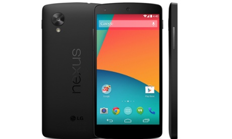 Pictures of the Google Nexus 5 were briefly put ip on the Google Play Store, along with the pricing in the US