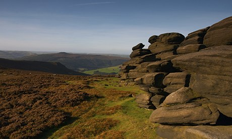 The Wheelstones - Derwent Edge, on the High Peak Moors