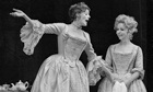 Maggie Smith and Sheila Reid in The Beaux' Stratagem in 1970