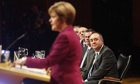 SNP Conference Sturgeon Salmond