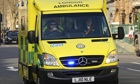 Ambulances sometimes have to queue for hours to release patients into full A&E departments