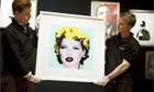 Artwork at auction by Banksy