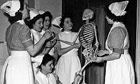 Skeleton in their Cupboard surrounded by nurses