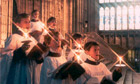 Canterbury cathedral choirboys