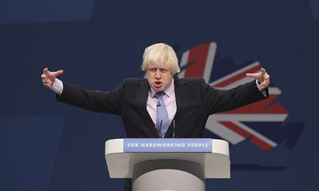 Boris Johnson has a big vision.