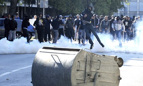 Clashes during gay pride march in Podgorica, Montenegro