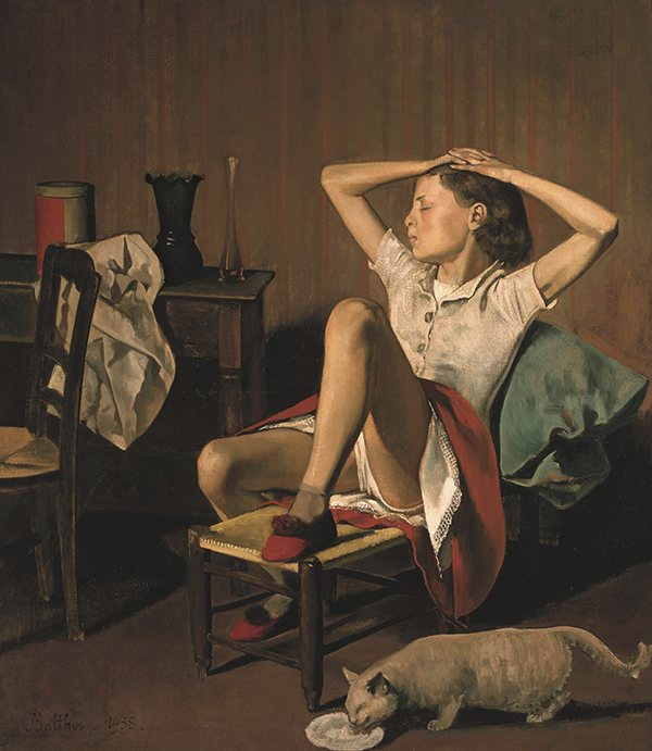 Th R Se Dreaming By Balthus Courtesy The Metropolitan Museum
