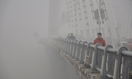 chinas air pollution blamed for eight year olds lung cancer An unidentified 8-year-old girl in china has become the country's youngest lung cancer patient, according to china's xinhua news agency doctors from the jiangsu cancer hospital say toxic air pollution, known as smog, is the primary cause of the young girl's life-threatening condition.