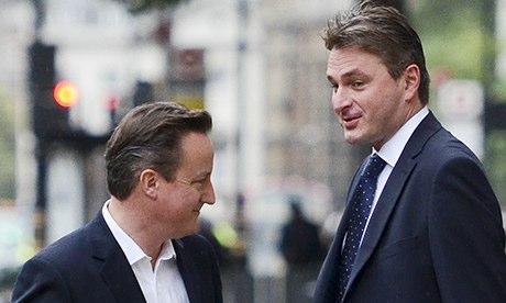 Daniel Kawczynski with David Cameron